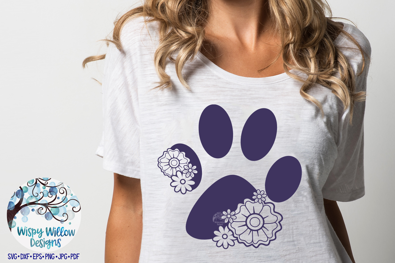 Floral Animal Bundle | Floral Animal SVG Cut Files example image 10