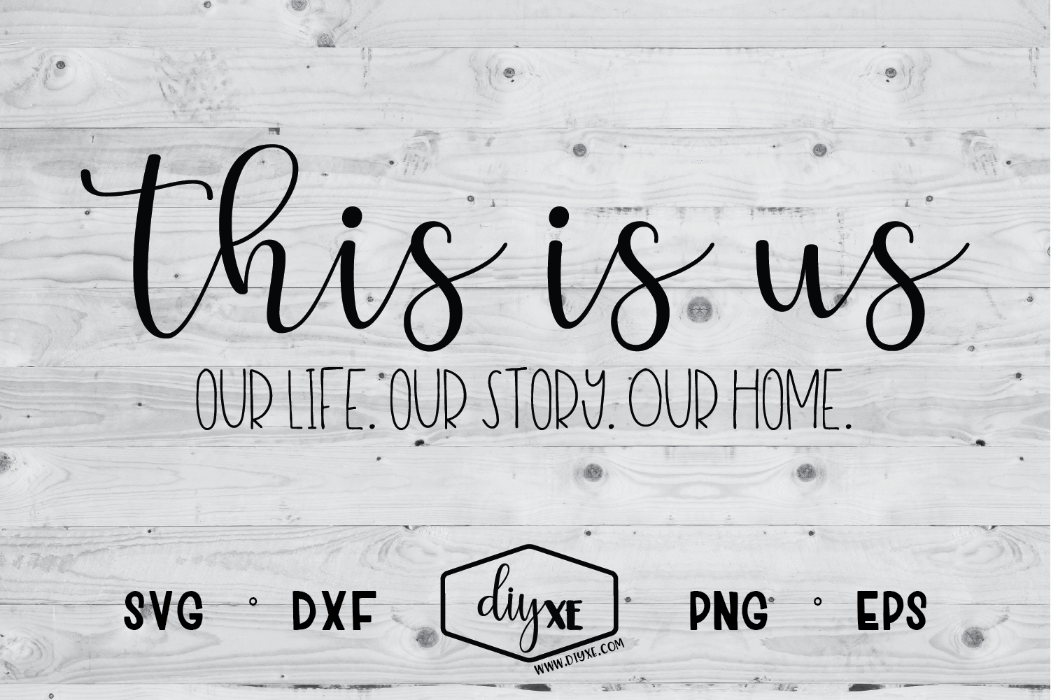 This Is Us - Our Life, Our Story, Our Home example image 1