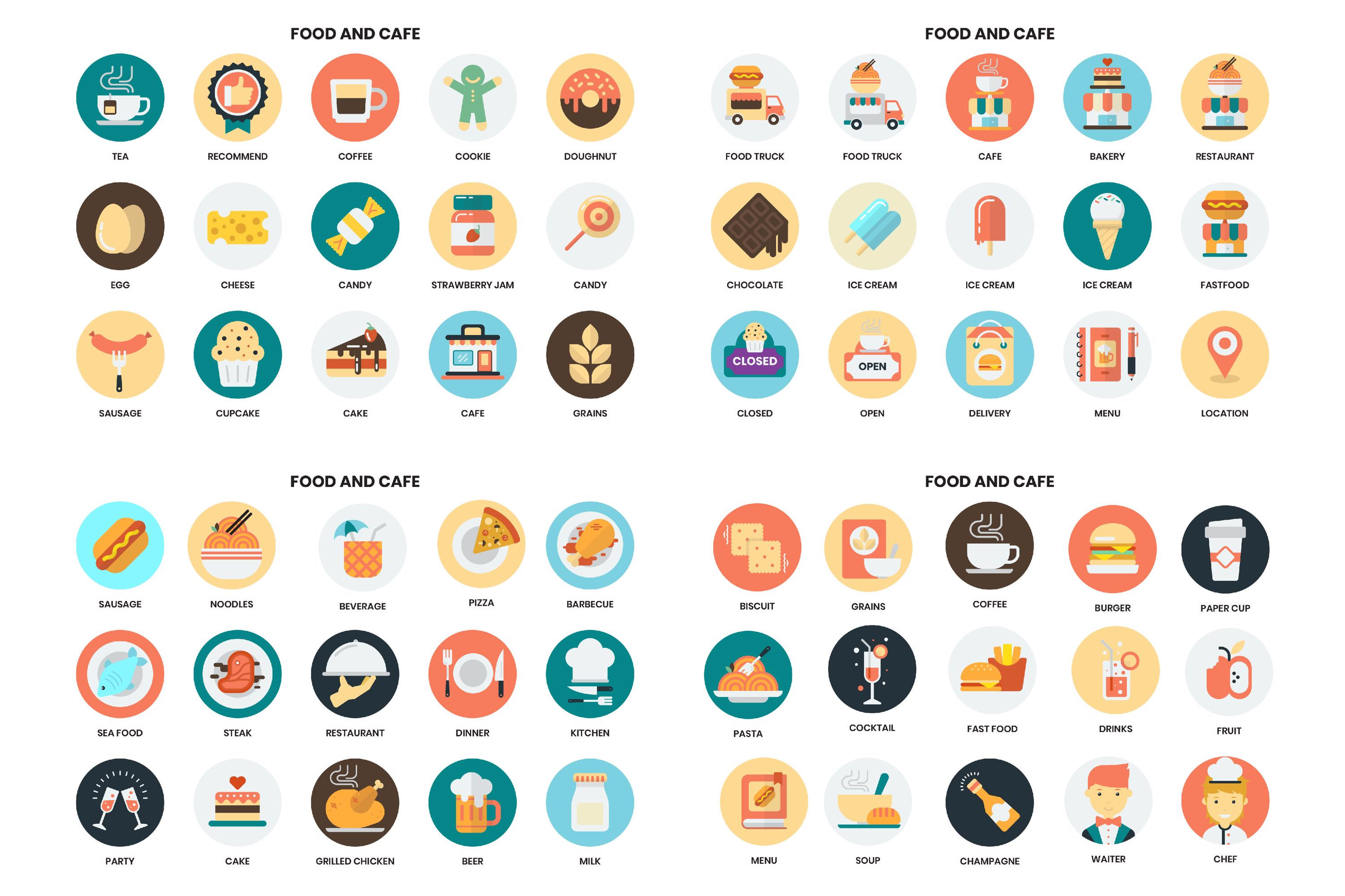 1155 PERFECT ICONS SET example image 17
