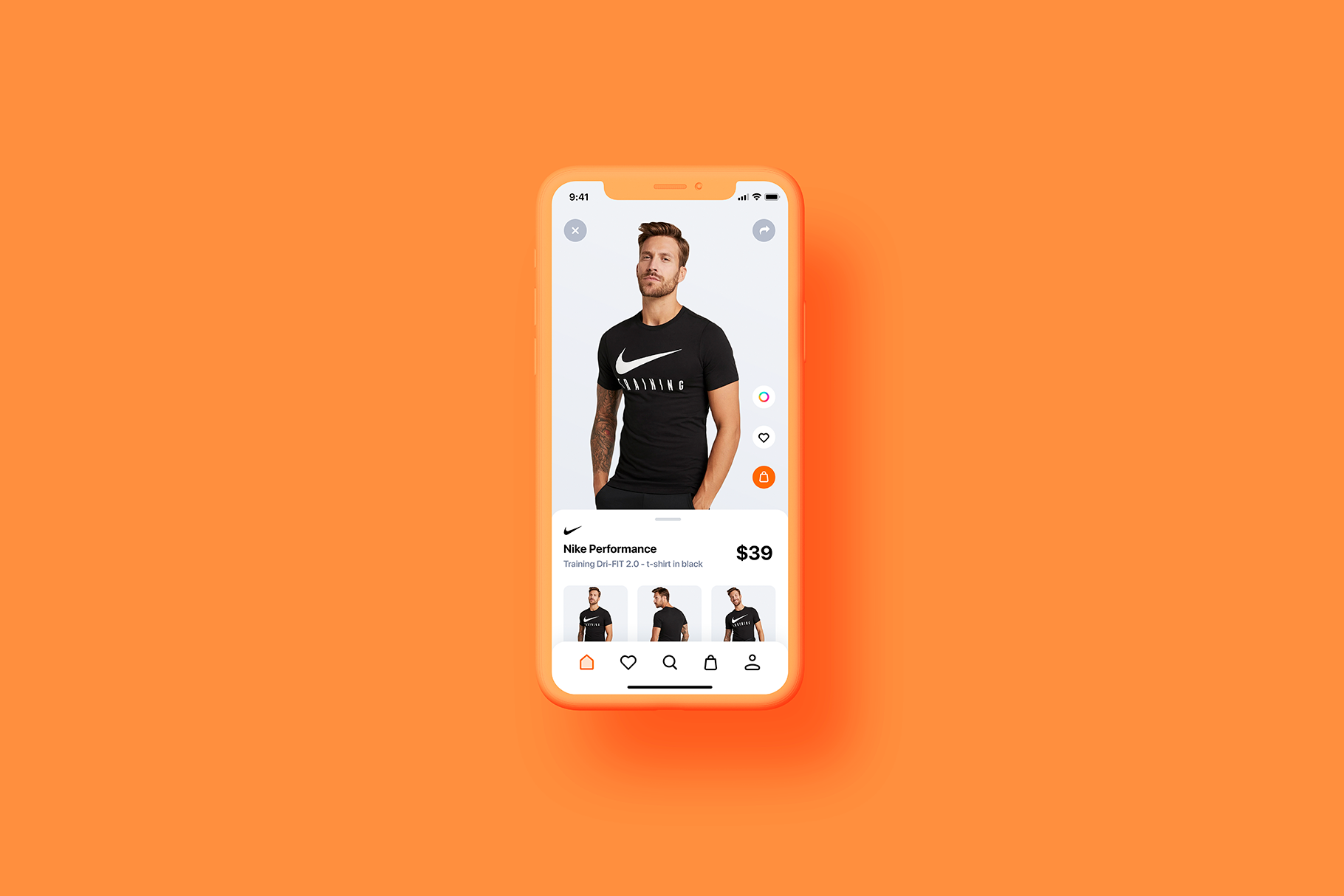 iPhone 11 Pro - 20 Clay Mockups Scenes - PSD example image 8
