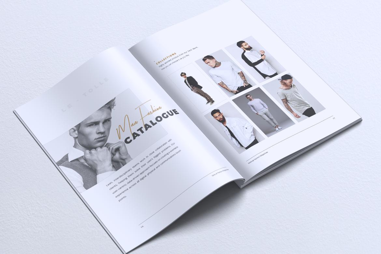 MINIMAL Lookbook Magazines Fashion example image 11