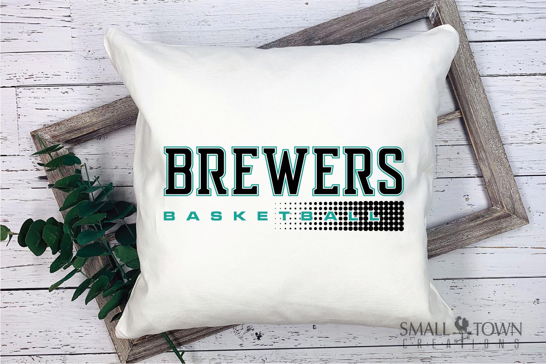 Brewer, Basketball, Sport, Team, Logo, PRINT, CUT, DESIGN example image 4