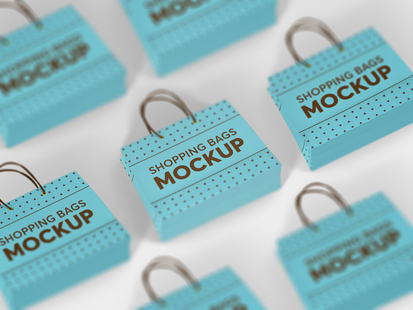Shopping Bag Mockups V2 example image 17