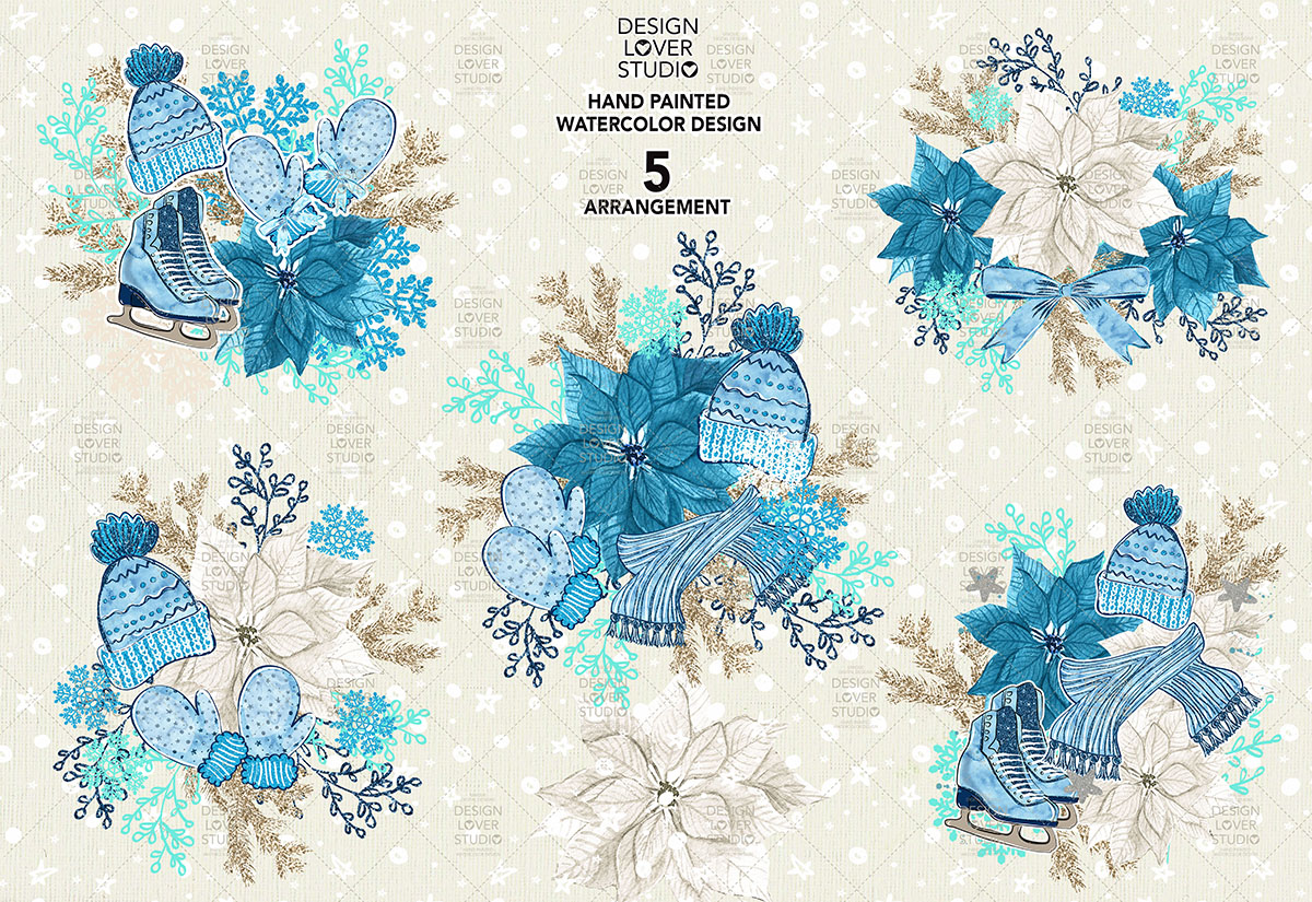 Hello Winter design example image 3