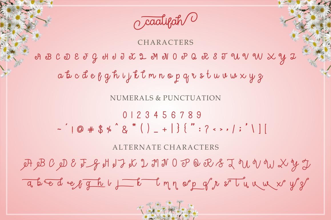 caalifah script example image 12