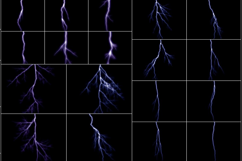 100 Lightning Overlays Vol. 2 example image 5