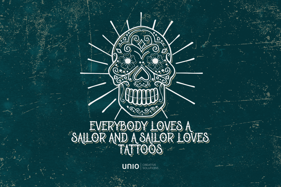 Sailor's Grave - Retro Tattoo Kit example image 5