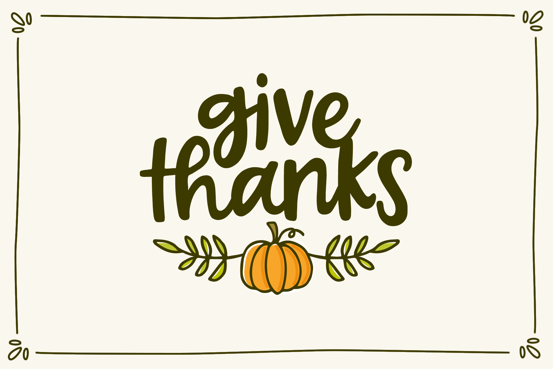 Forever Grateful Font & Doodles example image 2