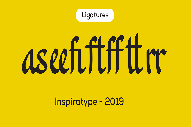 Khanaya - Serif Script Font example image 11
