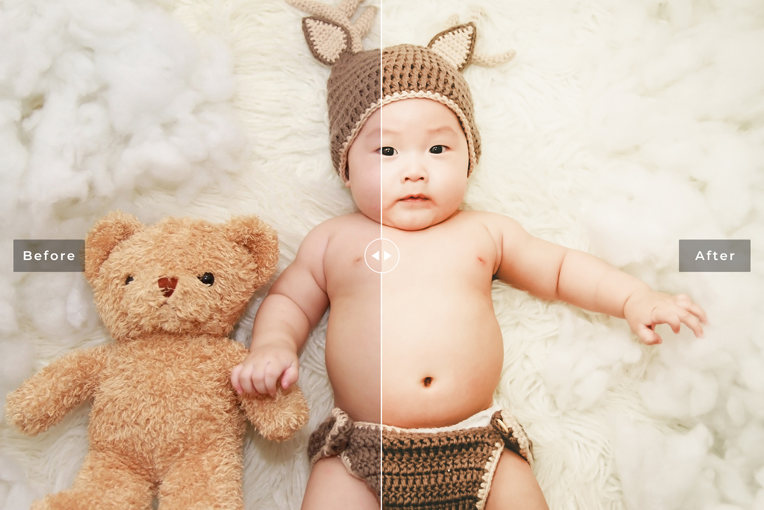 Newborn Photographers Mobile and Desktop Lightroom Presets example image 2