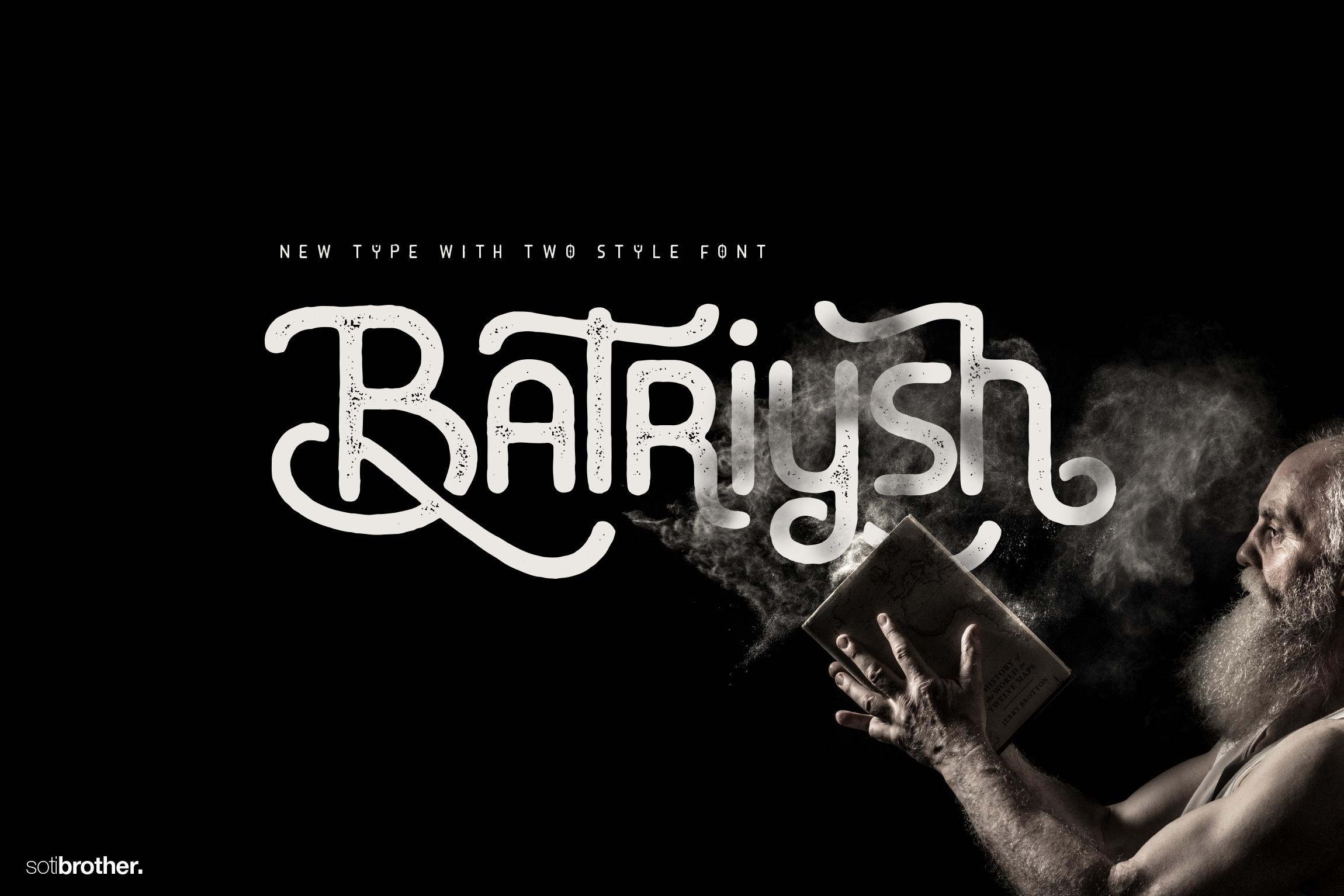 Batriysh Typeface example image 1