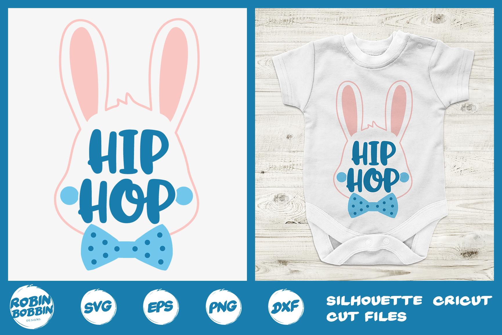 Easter svg, Hip Hop Easter Bunny Boy svg, Baby Easter svg example image 1