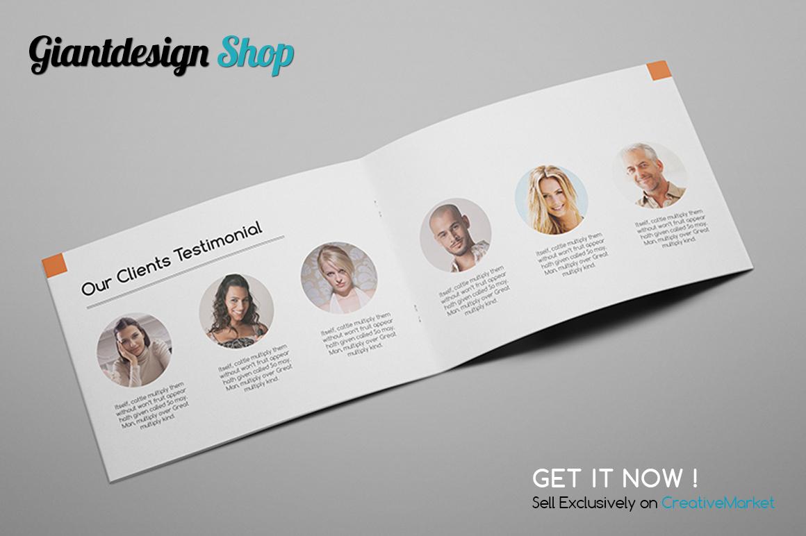 A5 Interior Design Brochure Catalog example image 5
