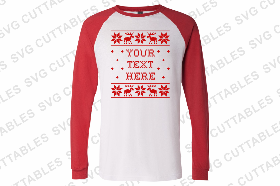 Christmas Sweater designs set of 4 example image 3