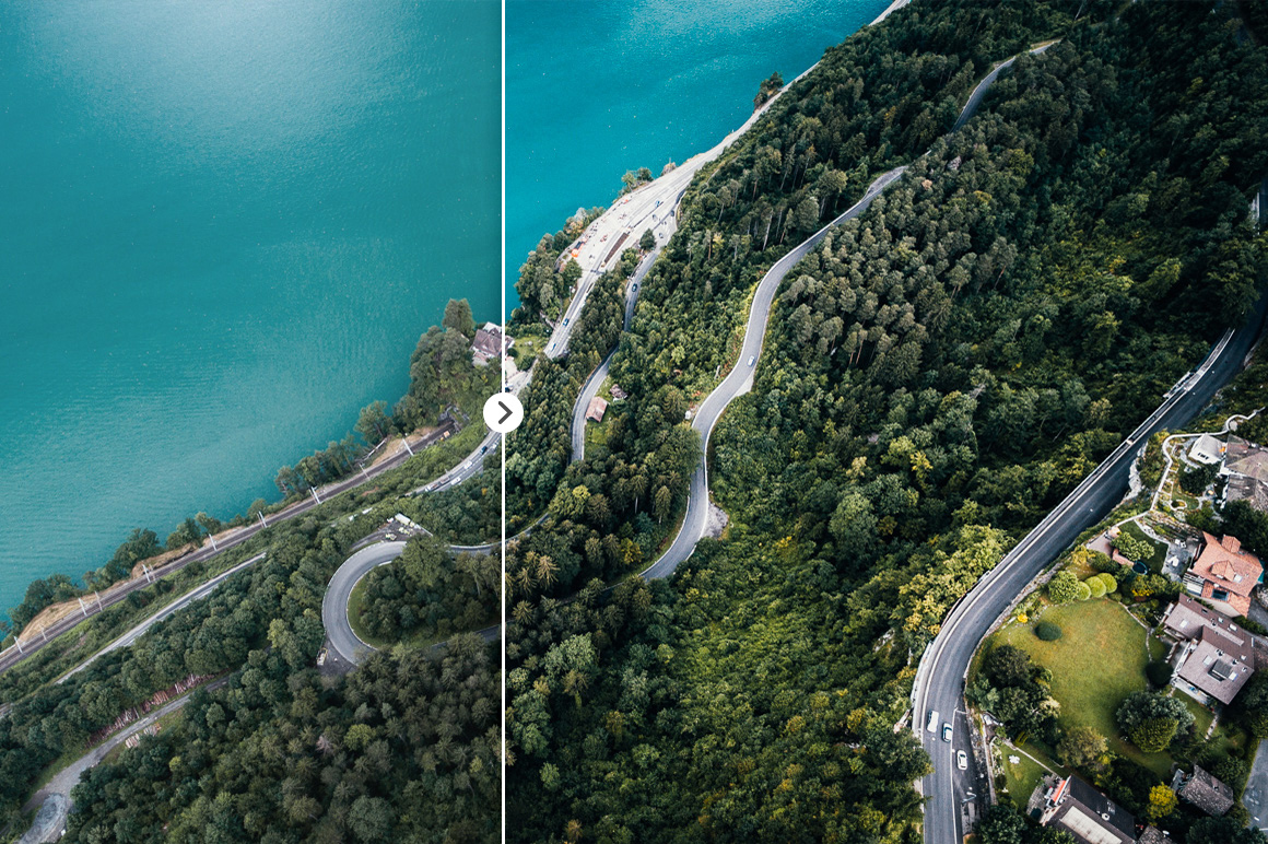 45 Lightroom Presets for Aerial Photography with Drones example image 4