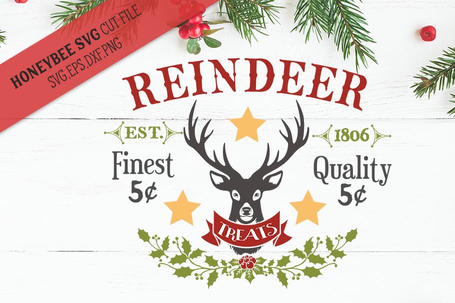 Reindeer Treats svg example image 1