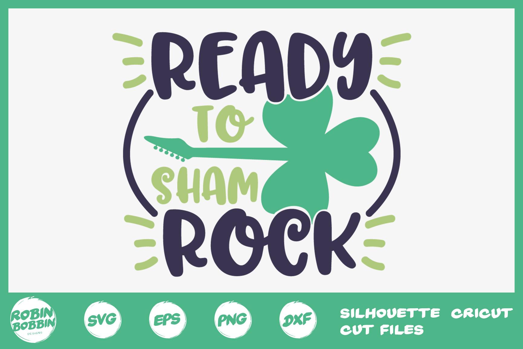 St. Patricks Day SVG, Ready To ShamRock SVG, Crafters SVG example image 1