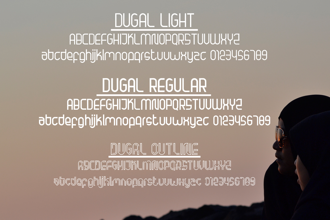 Dugal Family Fonts example image 2