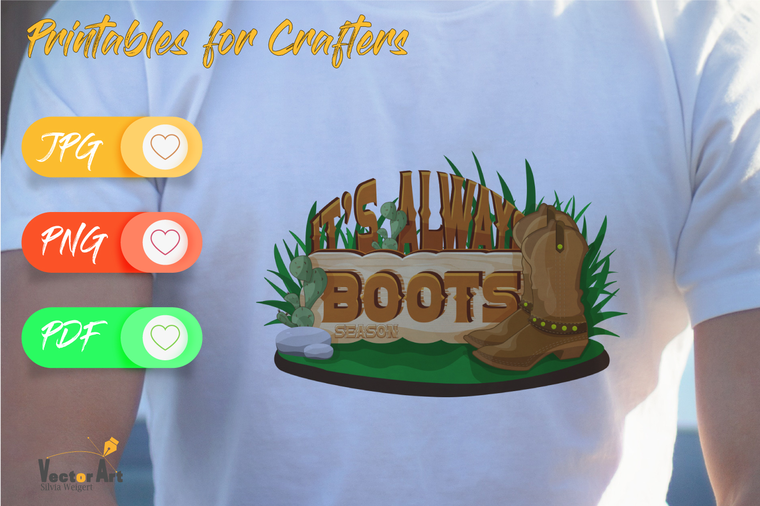 It's always boot season - Printables for Crafters example image 2