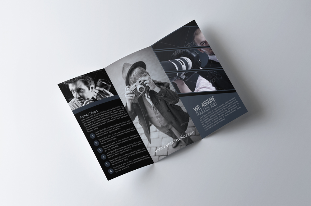 Photography Business Trifold Brochurs example image 2