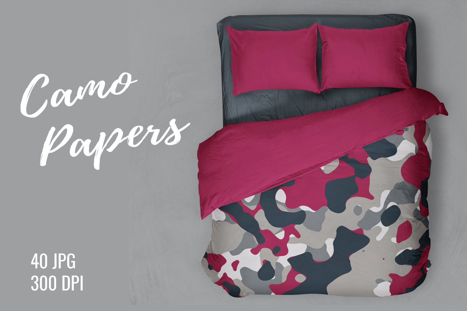40 Alternative Camouflage Paper Designs example image 1