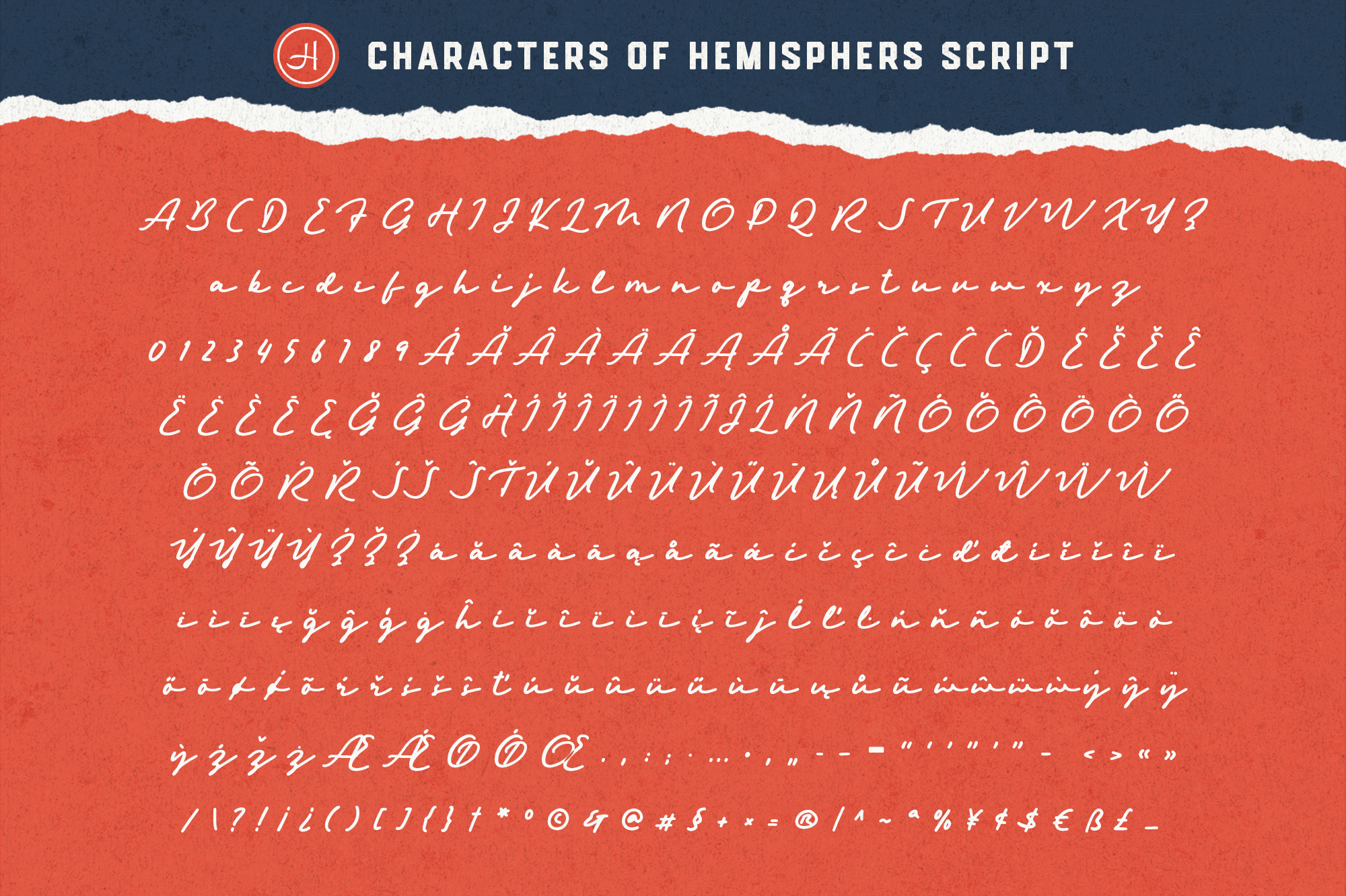 Hemisphers Font Collection example image 13