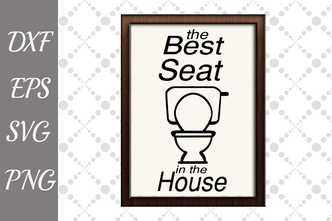 Bathroom Sign Svg Bundle, FUNNY BATHROOM SVG,Svg Designs example image 5