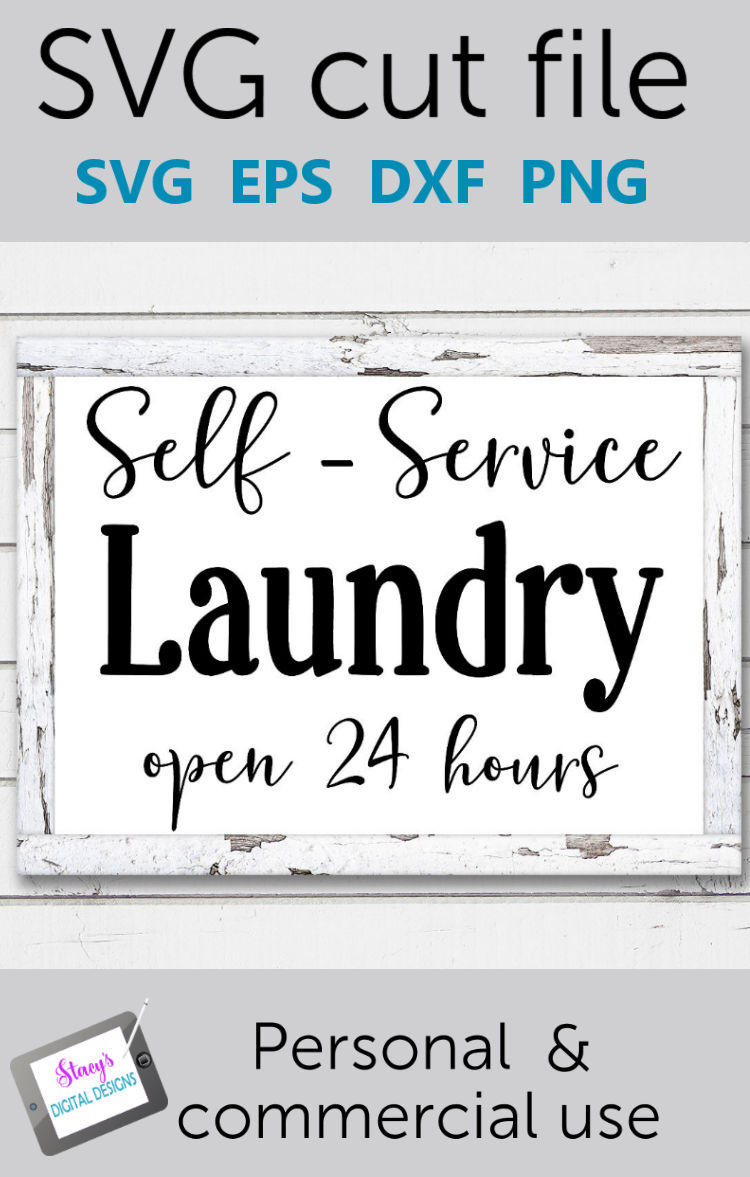 Laundry SVG - Self Service Laundry, open 24 hours example image 3