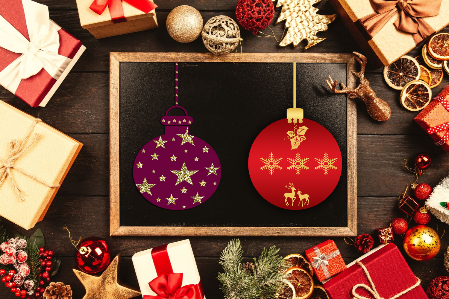 Cute Christmas Clipart- Cute Holiday Graphics Clipart example image 4