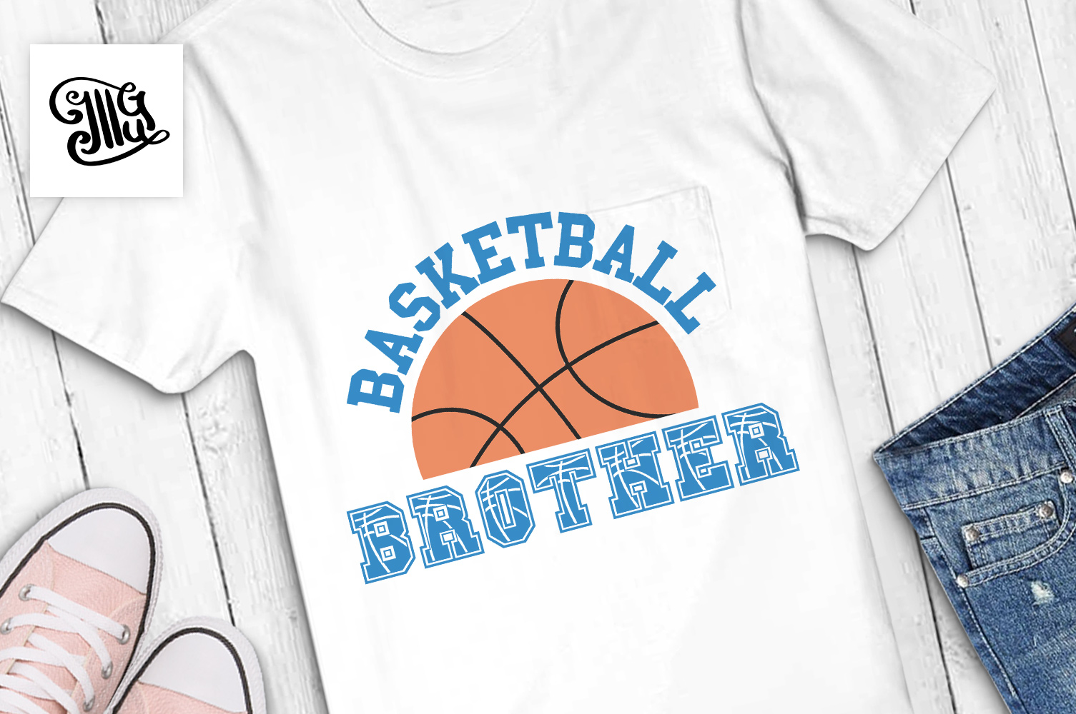 Basketball brother example image 1
