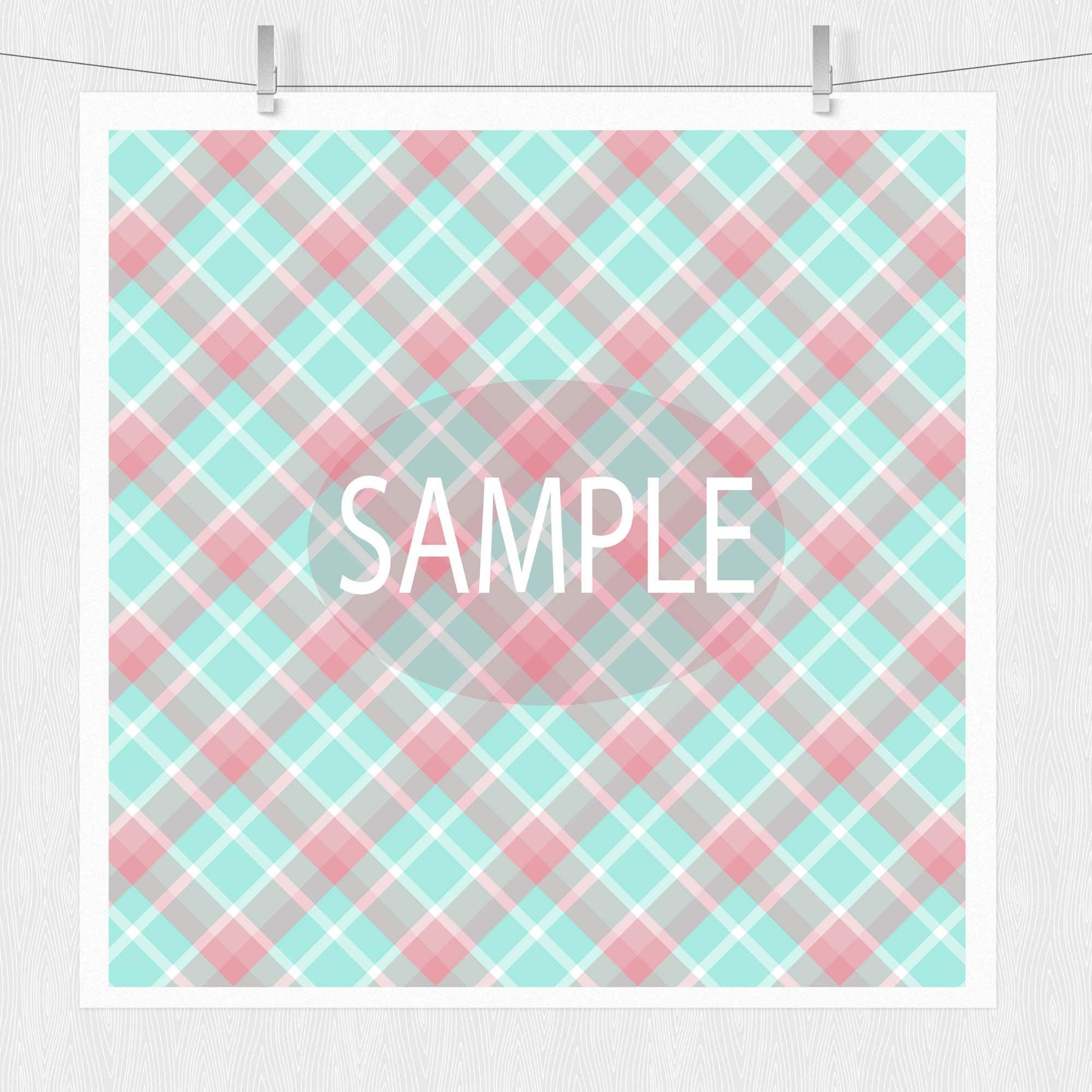 Spring Digital Paper Pack - Spring Showers example image 4