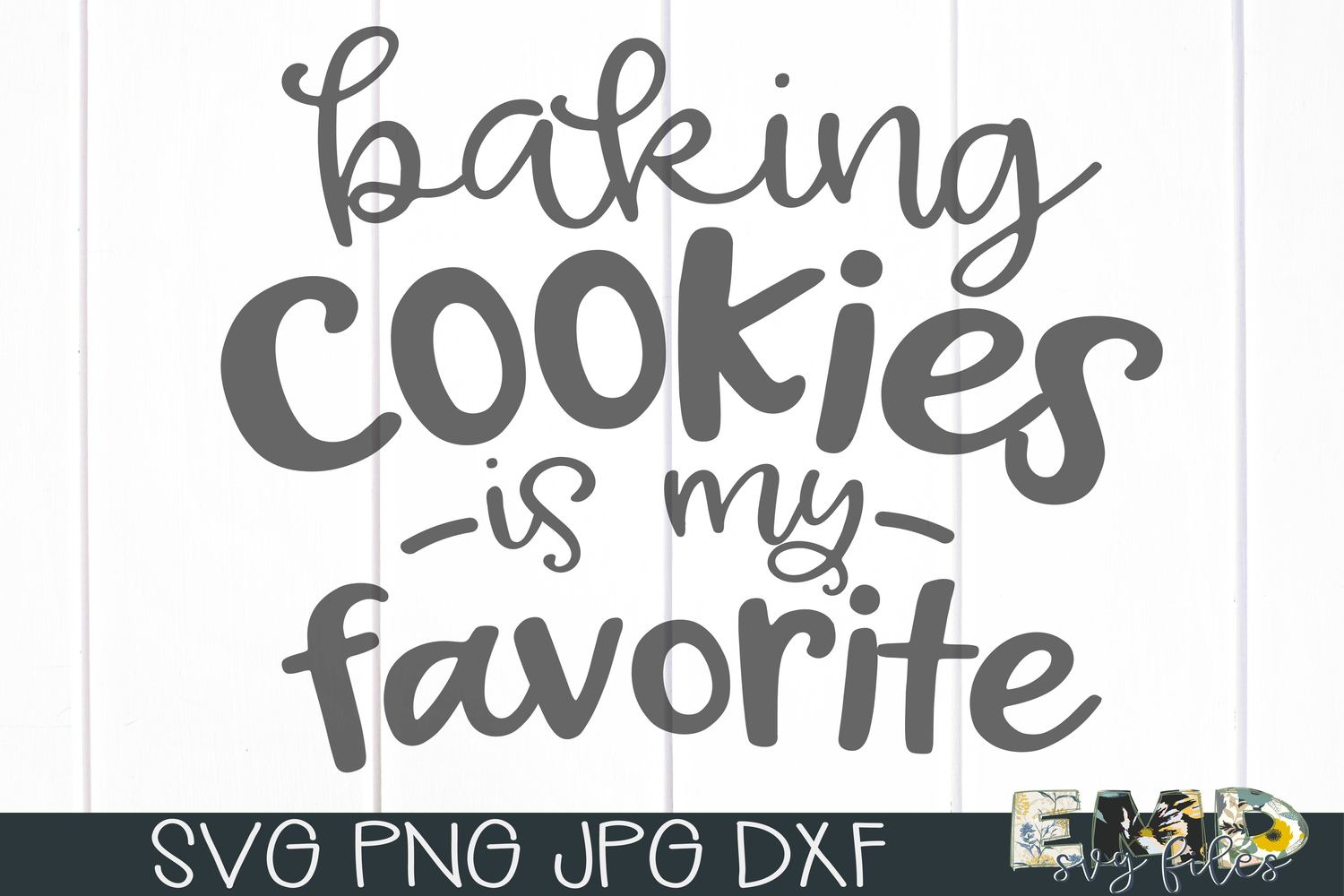 Christmas Baking Cookies Svg File   Holiday Svg example image 2