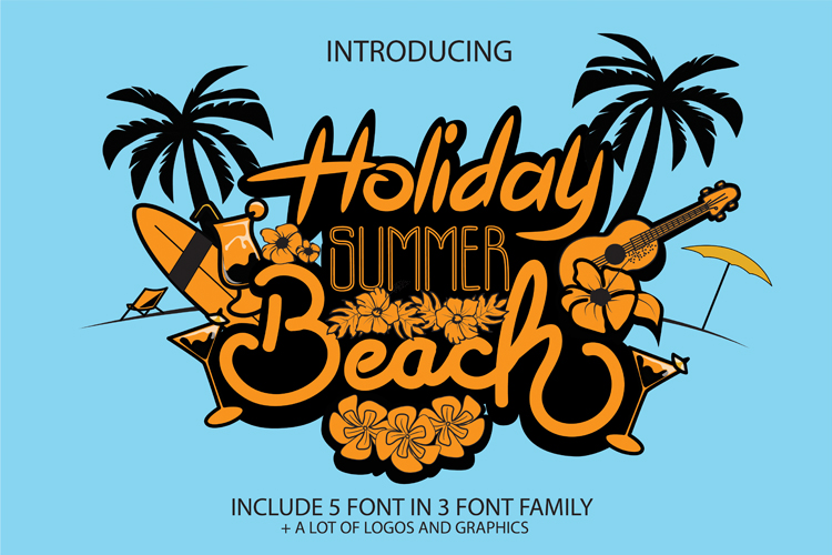 Holiday Summer Beach example image 1
