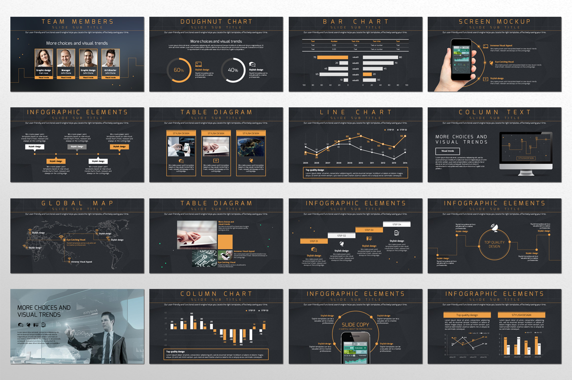 Network PowerPoint Template example image 3