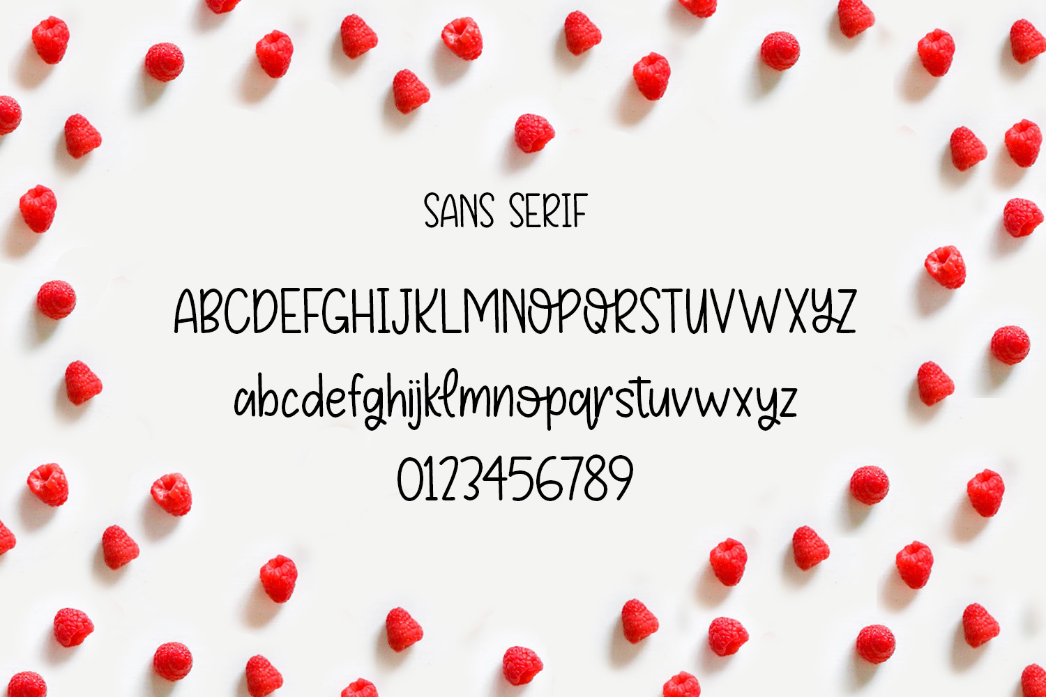 Fruity Patootie Font Duo example image 2