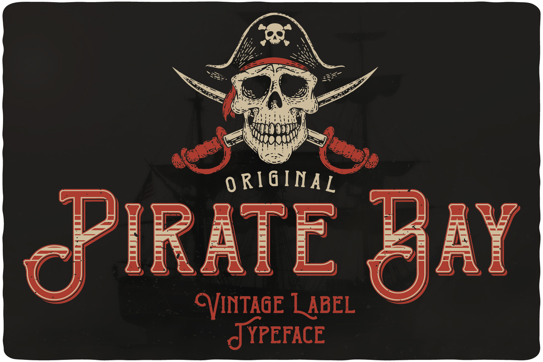Pirate Bay Typeface example image 1