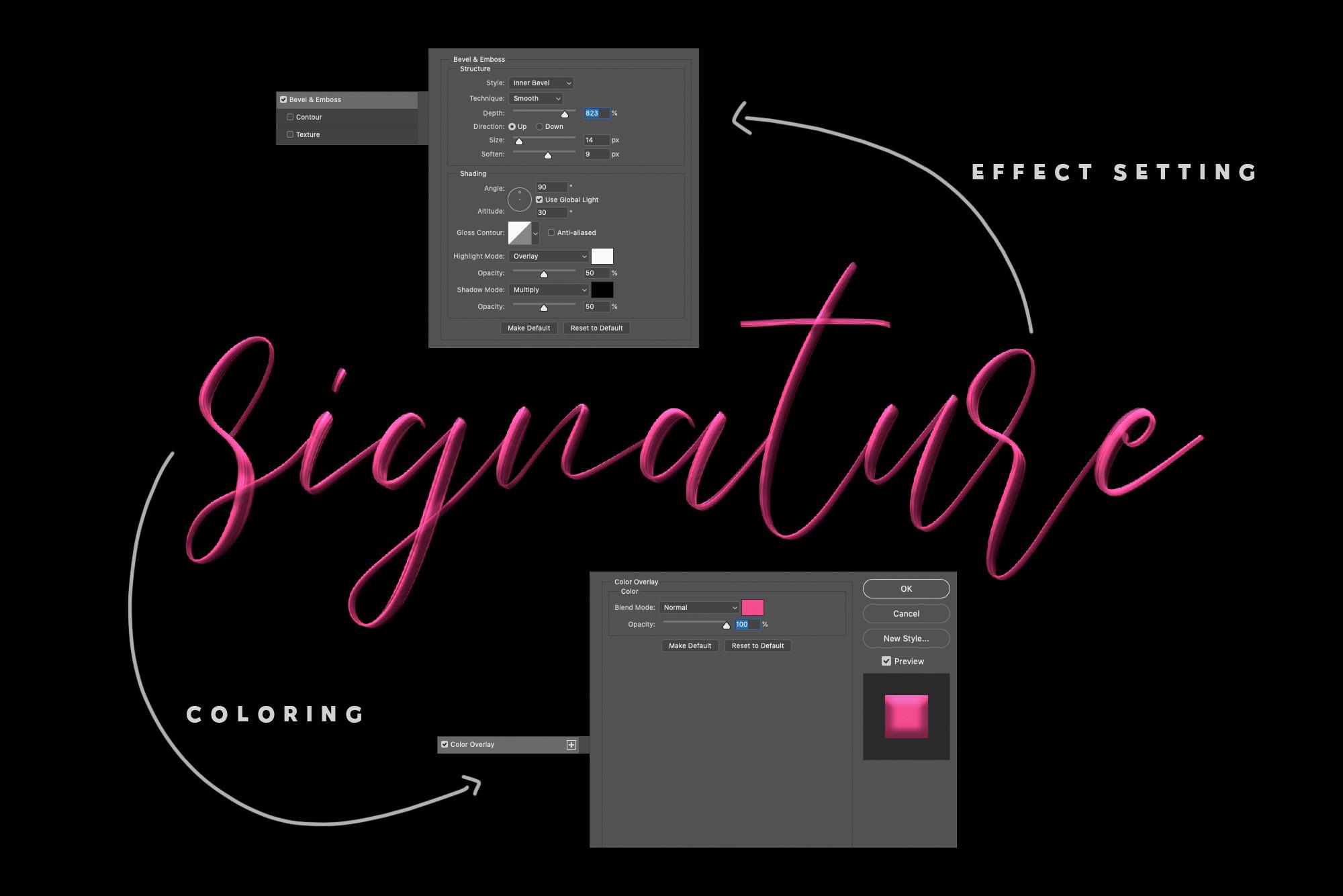 Love Brush SVG Font - Free Sans example image 7