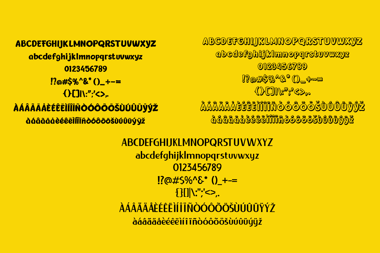 Chageur-LIEUR Bold font Duo example image 3