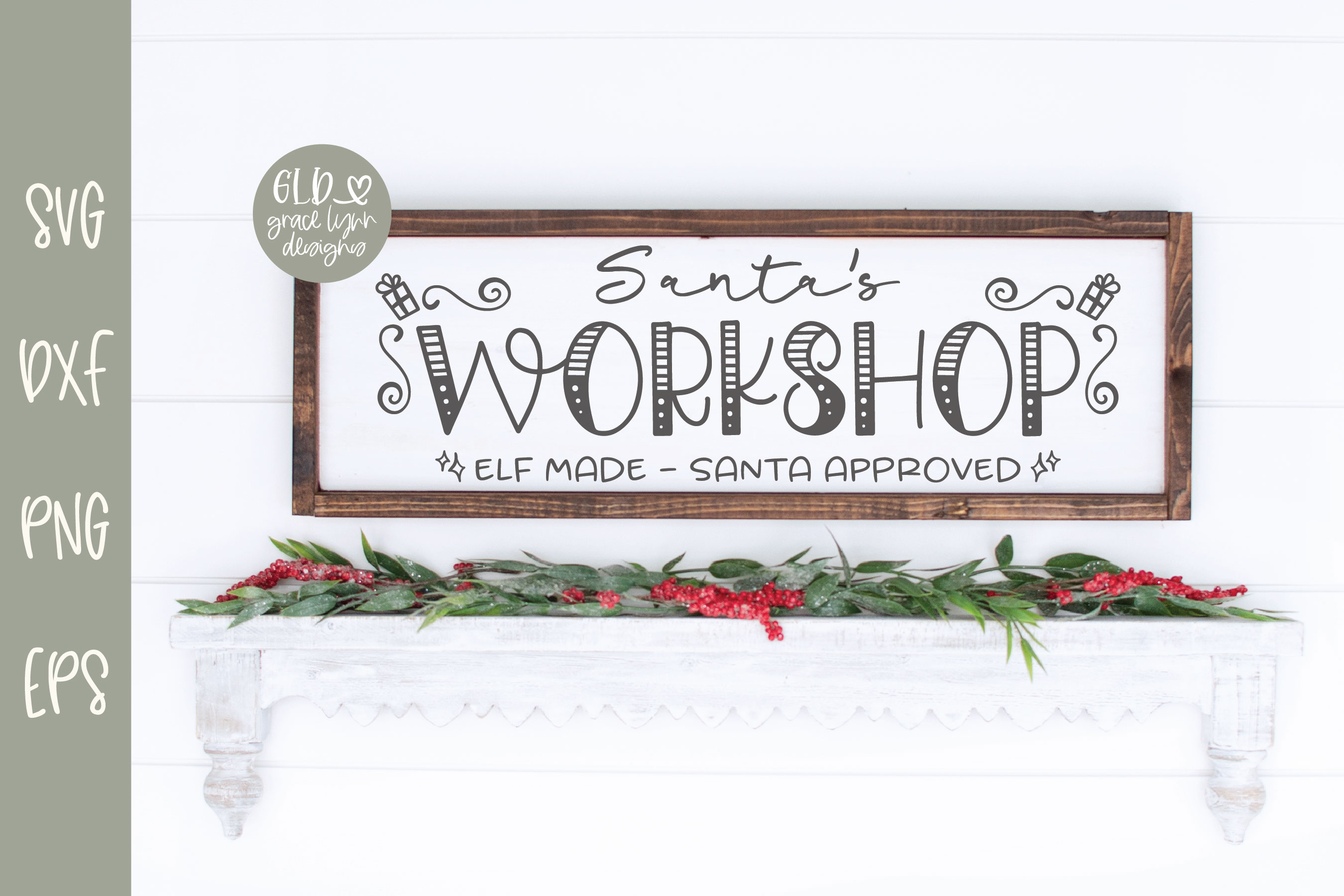 Santa's Workshop - Christmas SVG example image 1