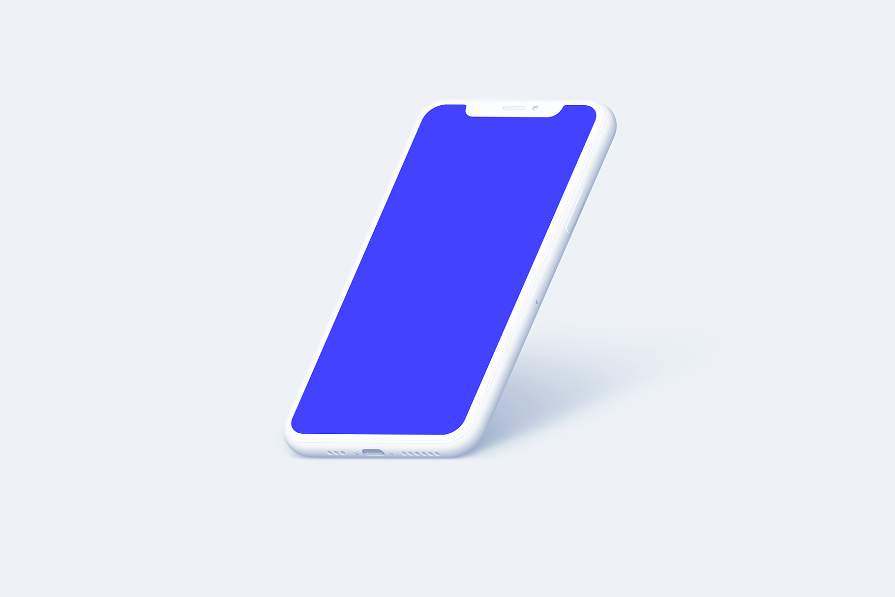iPhone 11 Pro - 20 Clay Mockups Scenes - PSD example image 18