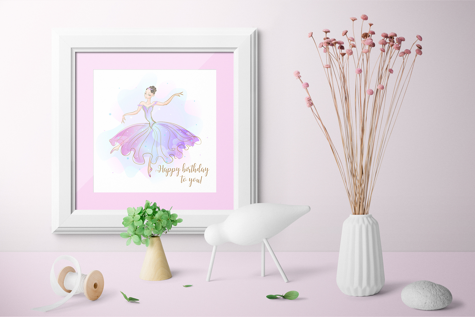 Ballerina doll with a set of dresses. example image 5