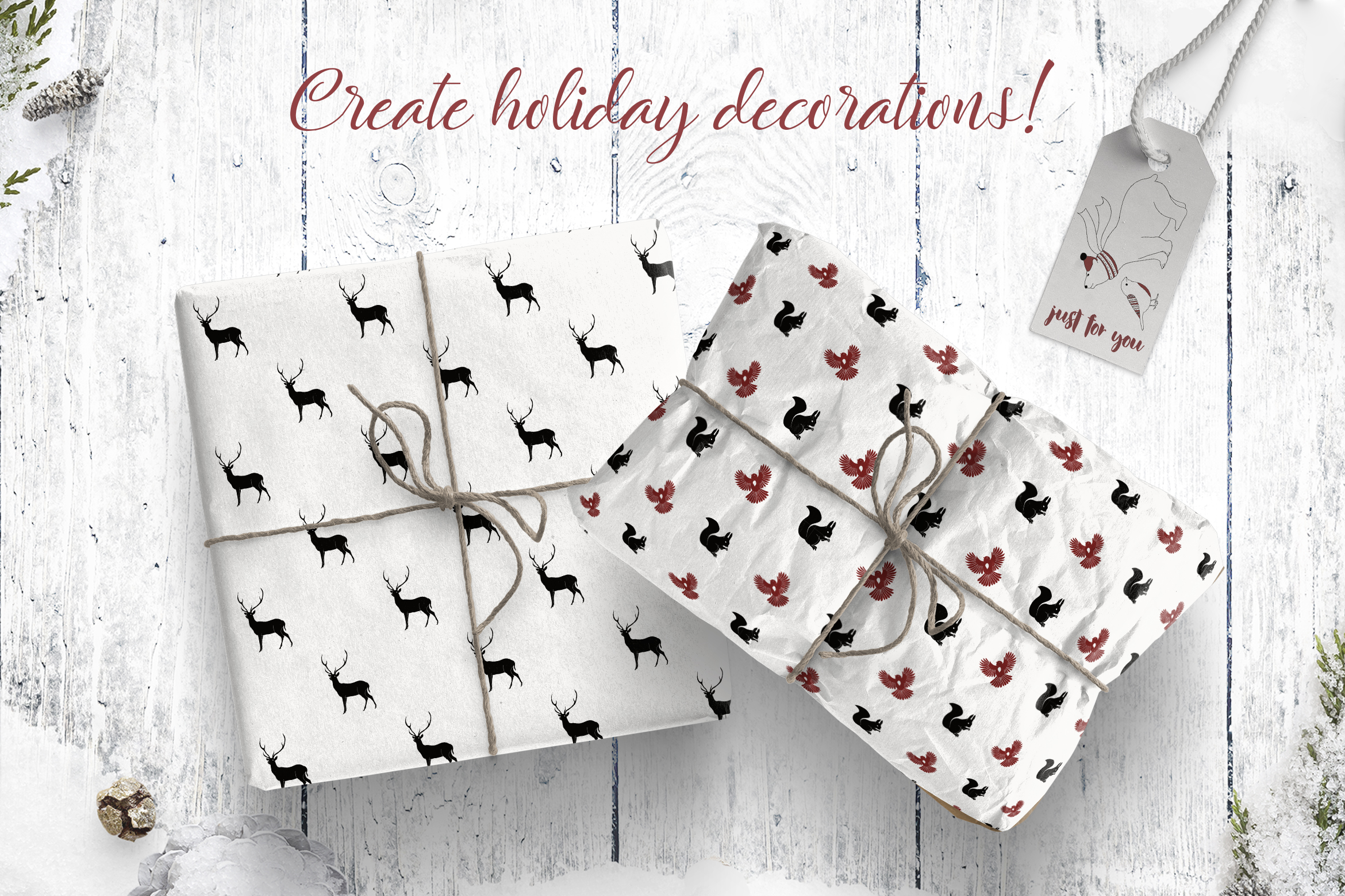 Christmas Design Bundle DIY example image 6