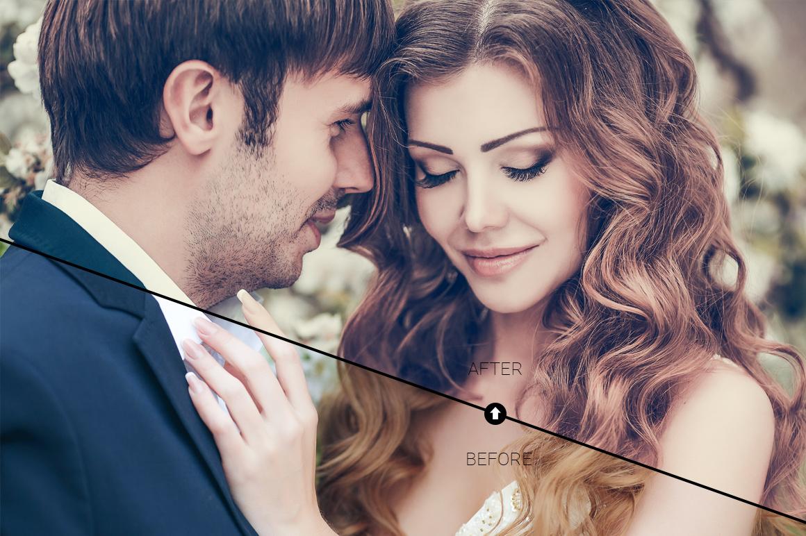 Wedding Day Lightroom Presets example image 2