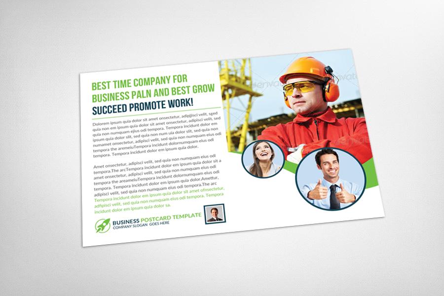 Multiuse Business Postcard Template example image 3