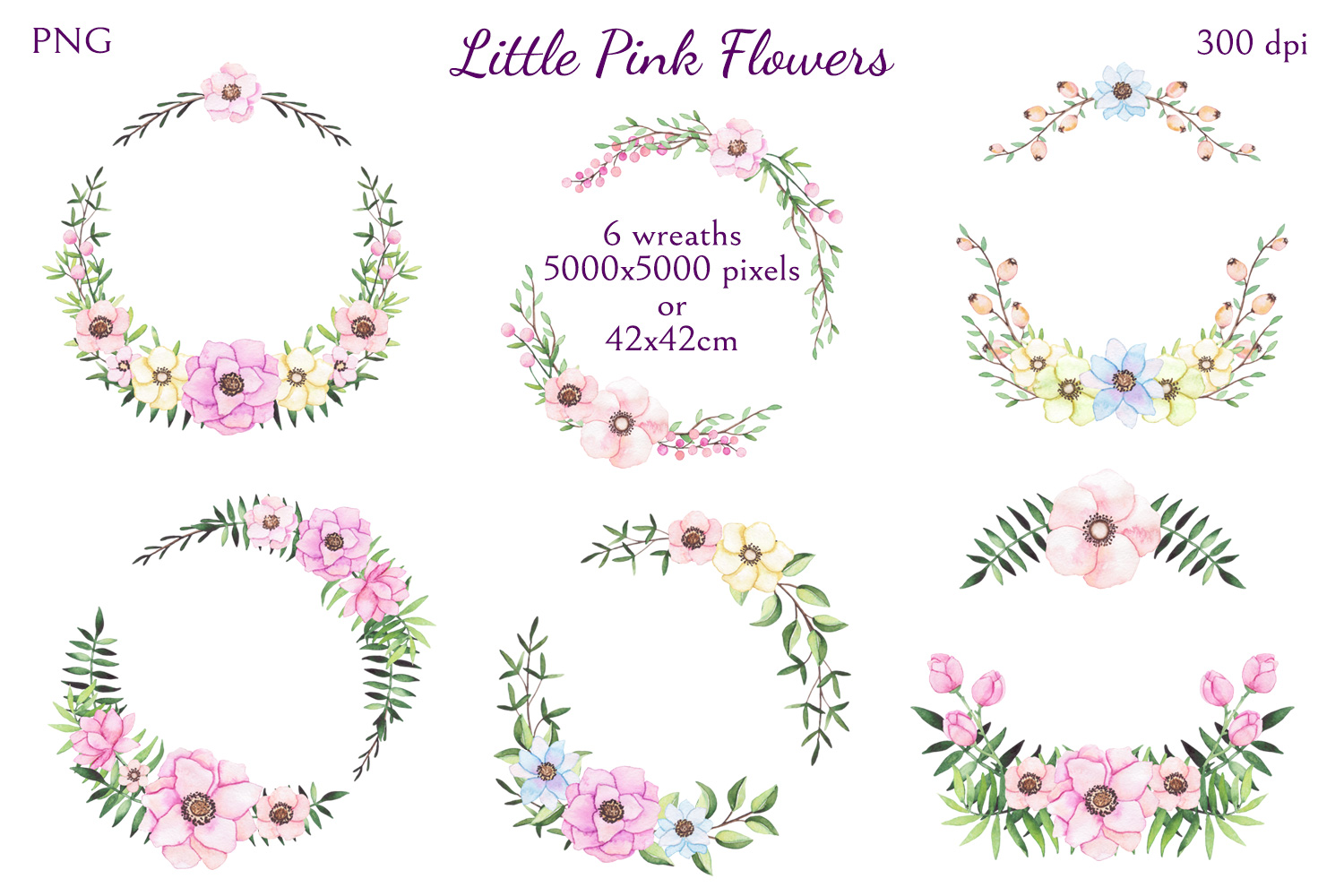 Little Pink Flowers example image 8