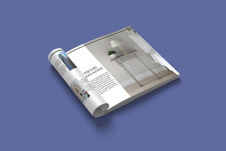 Square Magazine Mockup example image 11