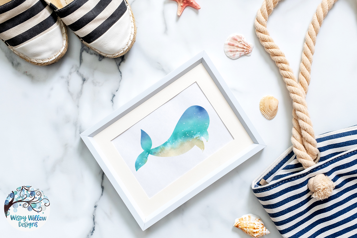 The Beach Bundle | Summer Ocean Animals |Sublimation Clipart example image 2