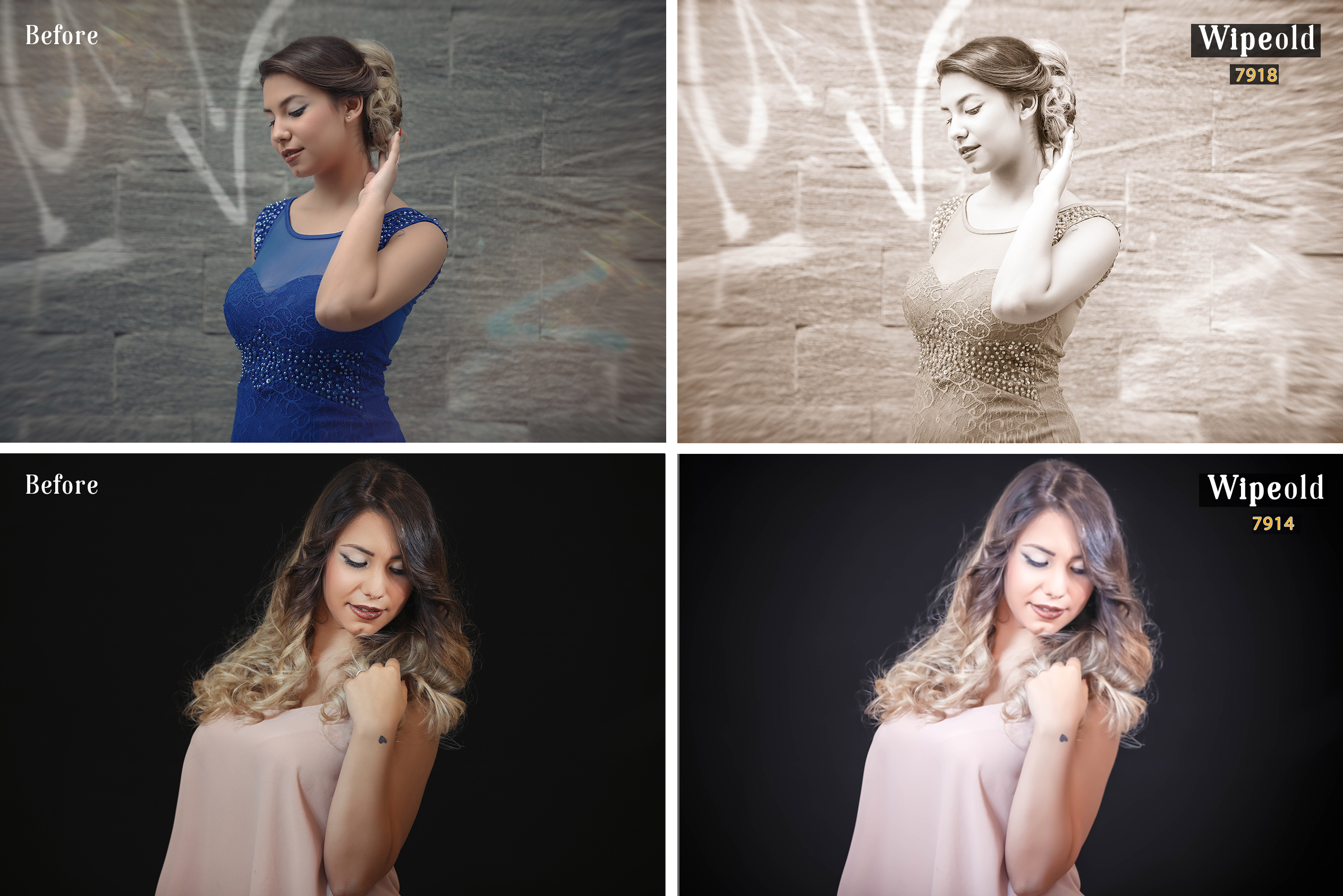 Wipeold Lightroom 100 and ACR 100 Presets example image 3