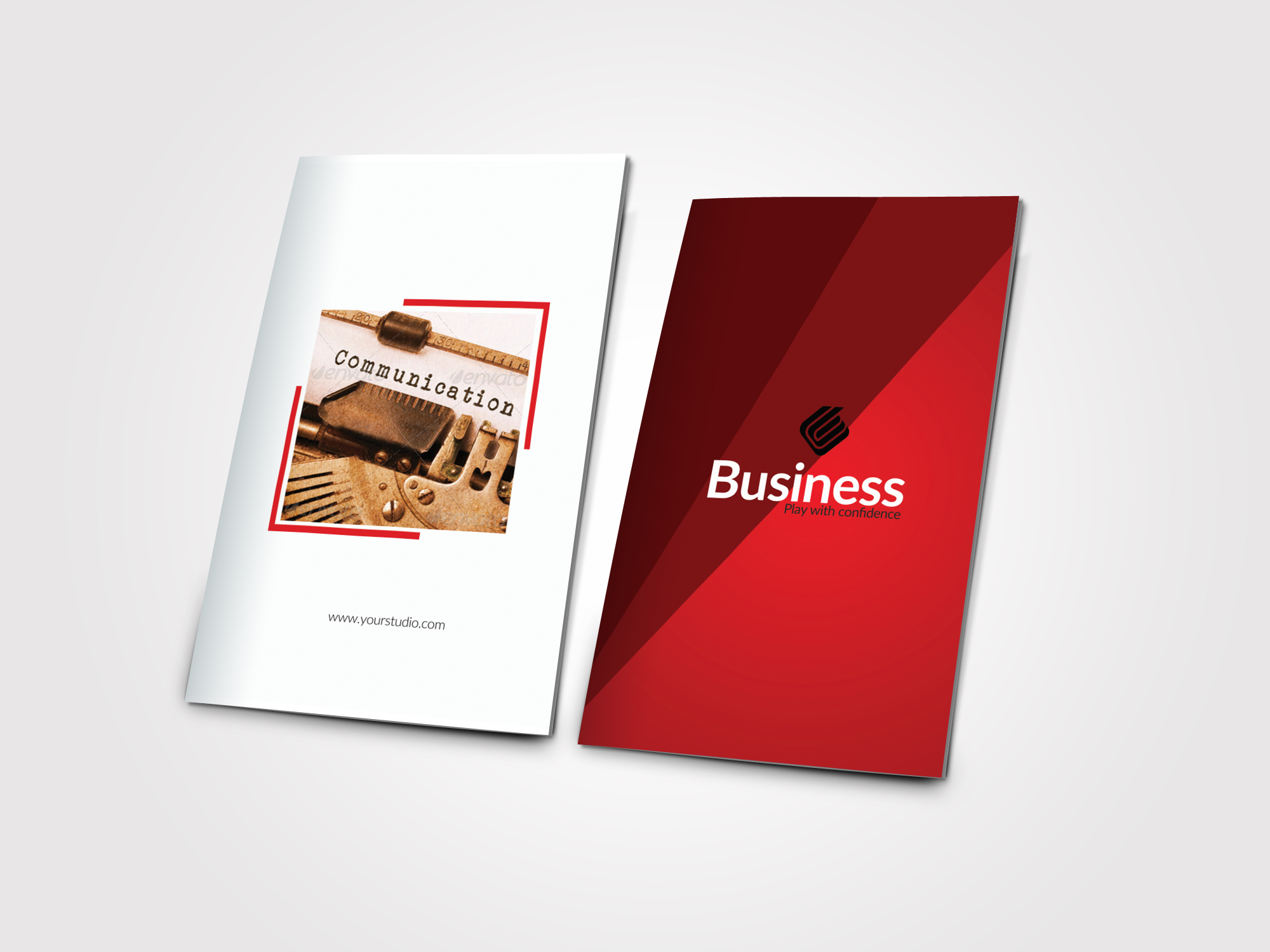 Business Dealing Bifold Brochure example image 4