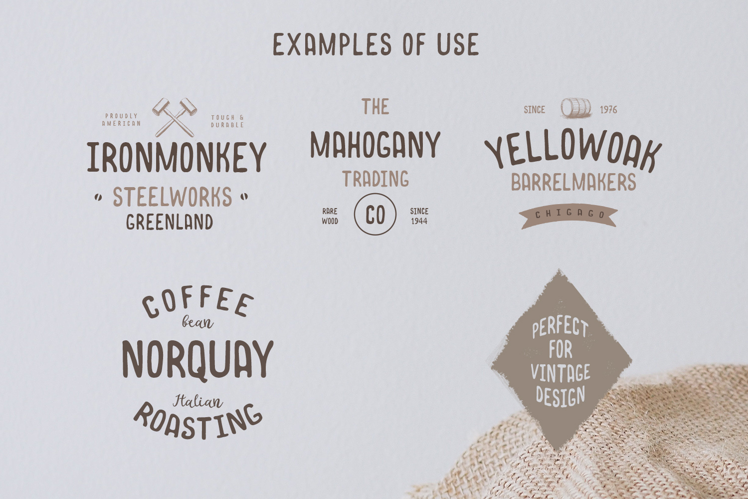 Norquay - Hand Drawn Font example 2